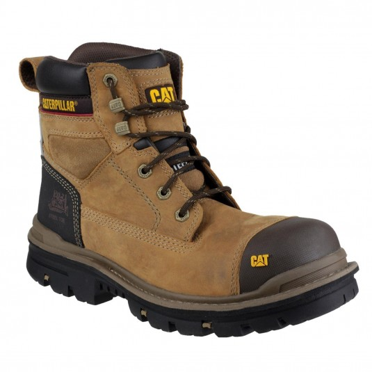 "Caterpillar Gravel 6"" Safety Boot Beige"
