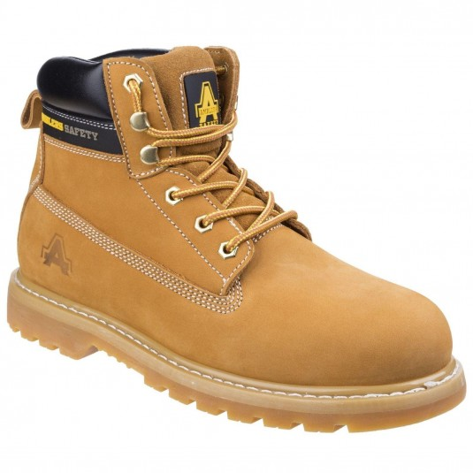 Amblers Safety FS7 Goodyear Welted Safety Boot Honey