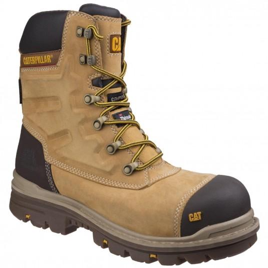 Caterpillar Premier Waterproof Safety Boot Honey