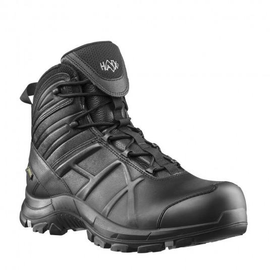 Haix Black Eagle Safety 50 Mid Black Boot