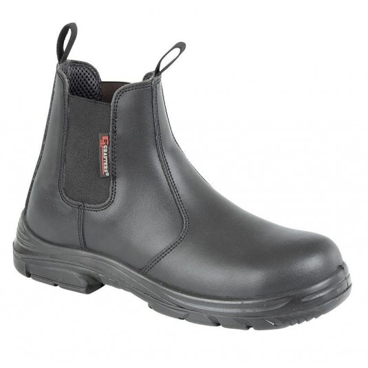 Grafters Wide Fitting Safety Dealer Boot