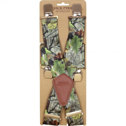 Jack Pyke Camo Elasticated Braces