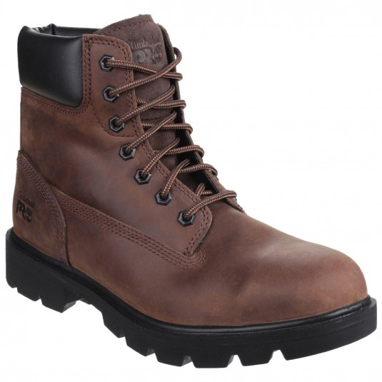 Timberland Pro Sawhorse Lace Up Safety Boot Brown