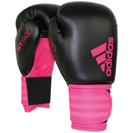 Adidas Hybrid Boxing Gloves Pink