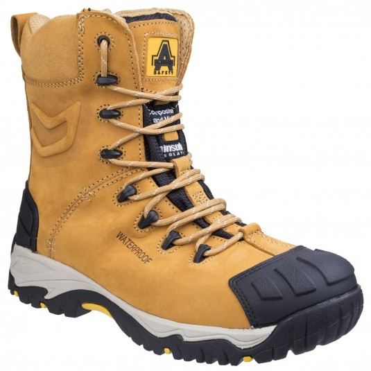 Amblers Safety FS998 Waterproof Lace up Safety Boot Honey