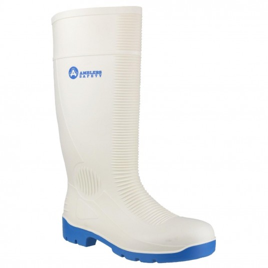 Amblers Safety FS98 Steel Toe Food Safety Wellington White