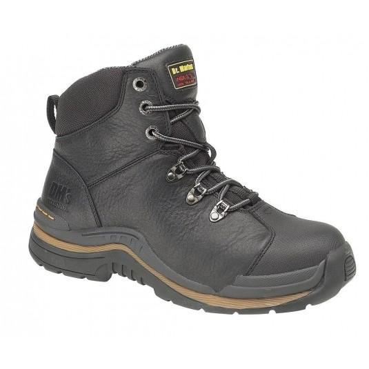 Dr. Marten's Nevis Steel Toe Black 6901