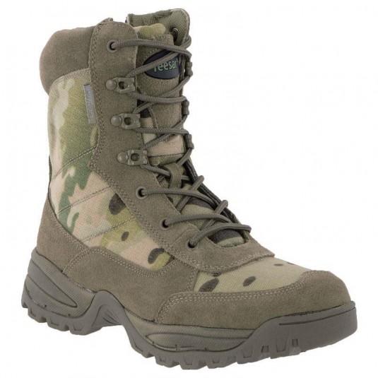 Mil-Tec Tactical Side Zip Boots Multicam