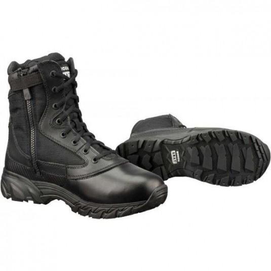 "Original SWAT Chase 9"" Side Zip Tactical Lightweight Police Boot Black"