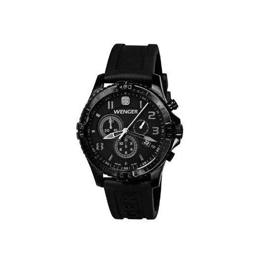 Wenger Squadron Chronograph Tactical Military Watch 77054