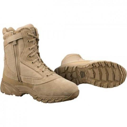"Original SWAT Chase 9"" Side Zip Tactical Lightweight Boot Desert Tan"