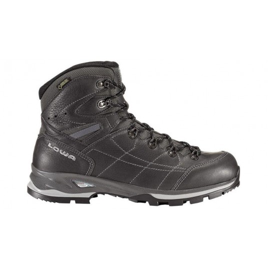 Lowa Hudson GTX Mid Backpacking Boot In Black