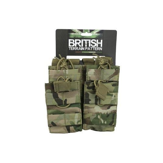 Kombat UK Double Duo Mag Pouch