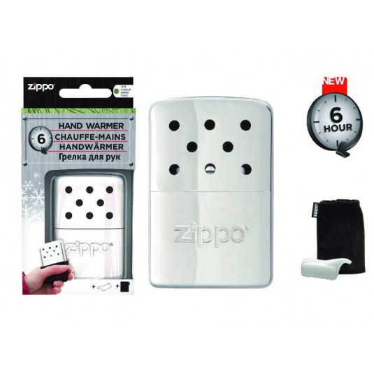 Zippo 6 Hour Hand Warmer Chrome