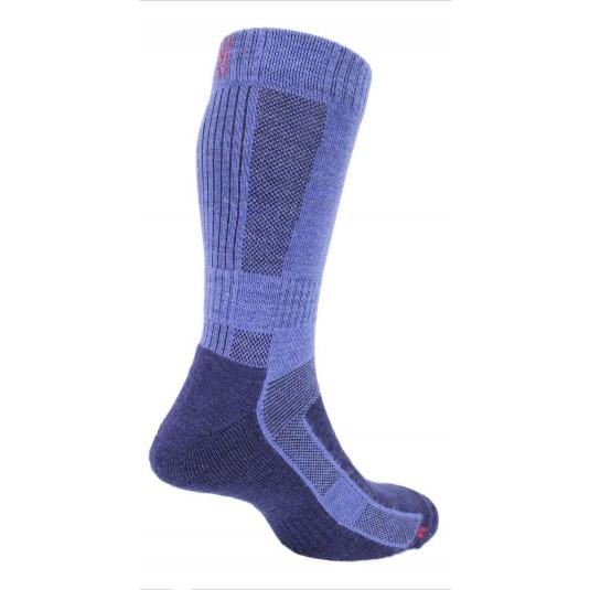 Norfolk Leonardo Ultimate Merino Wool Walking Sock with Cushioning In Navy