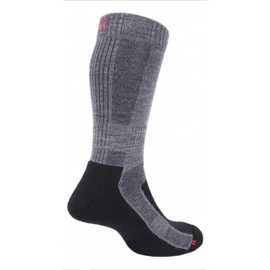 Norfolk Leonardo Ultimate Merino Wool Walking Sock with Cushioning In Grey