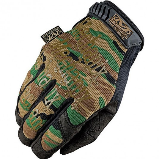 Mechanix Original Covert Gloves Woodland Camo