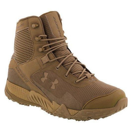 Under Armour Tactical Valsetz RTS Mens Boots Military Coyote Brown