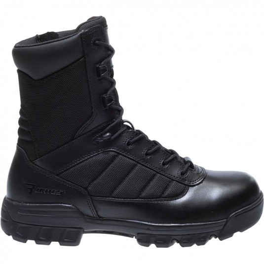 Bates 8 Inch UltraLite Tactical Sport Side Zip Boot In Black