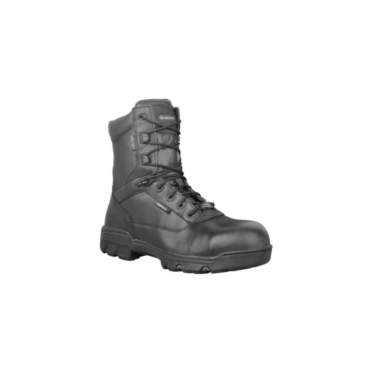 Bates 8 Inch Leather GTX Boot In Black