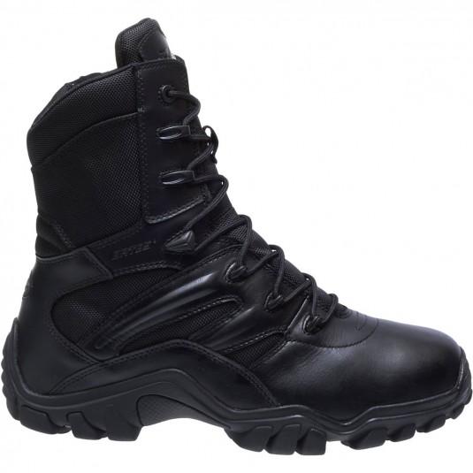 Bates Delta-8 Side Zip Boot In Black