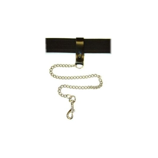 Security Chain with Leather Belt Loop