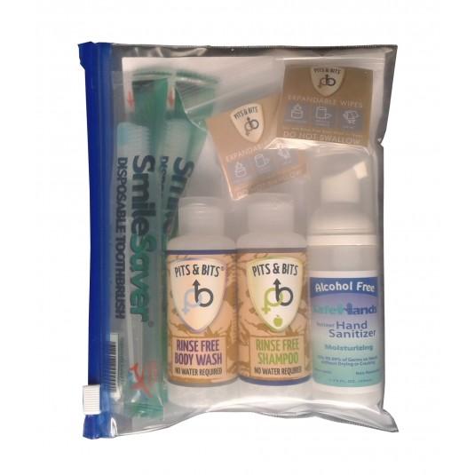 Pits & Bits Large Rinse Free Wash Kit