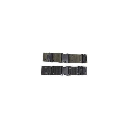 Mil-Com Quick Release Nylon Pistol Belt O/Green