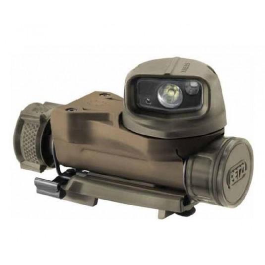 Petzl Strix VL Tactical Headlamp with multiple carry options Camo (E90AHB C)