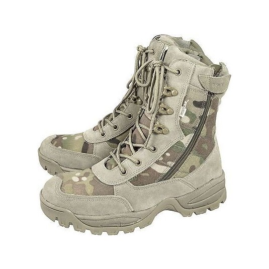 Viper Special Ops Side Zip Boots Multicam