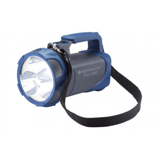 Nightsearcher Trio 550 LI-ION Searchlight Blue/Grey