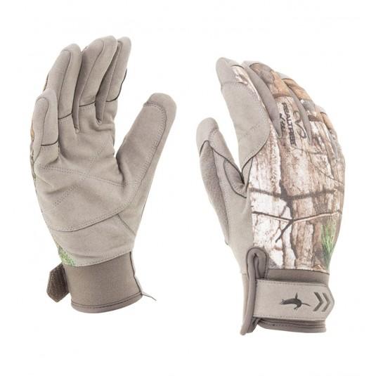 SealSkinz Camo Dragon Eye Waterproof Gloves Realtree Xtra/Beige