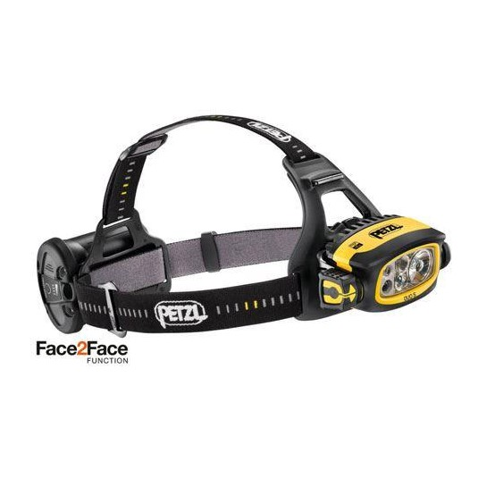 Petzl DUO S (UK)  Black/Yellow