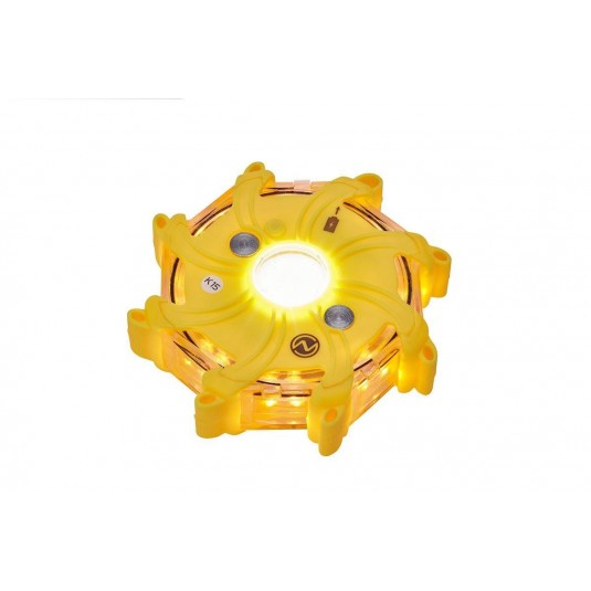Nightsearcher Pulsar-Pro Individual Hazard Light Yellow Pod