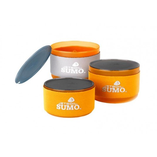 Jetboil 3pc Jetboil SUMO Campanion Bowl Set