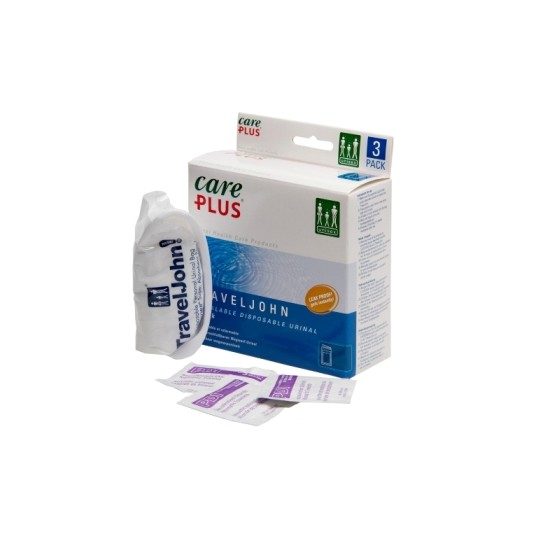 Care Plus Travel John Disposable Urinal 3pcs