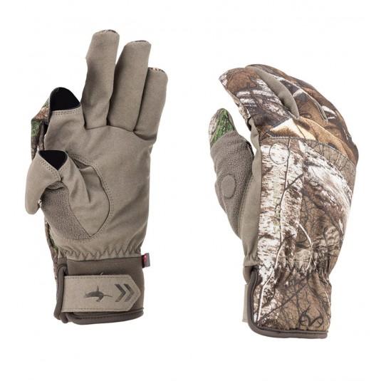 SealSkinz Camo Sporting Waterproof Gloves Realtree Xtra/Beige