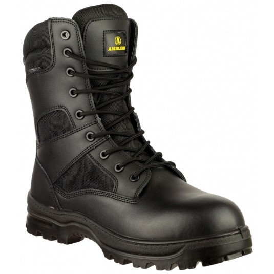 "Amblers Tactical 8"" Waterproof Combat Police Boots"