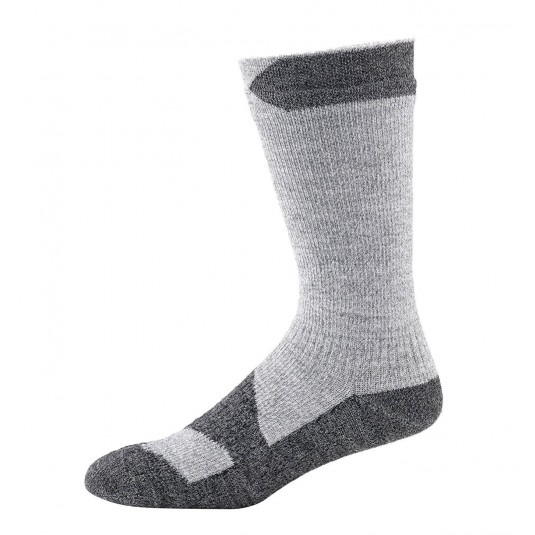 SealSkinz Walking Thin Mid Waterproof Socks Olive Light Grey/Dark