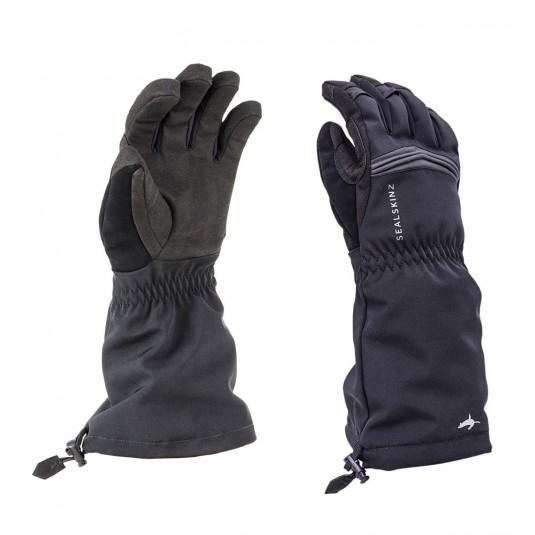 SealSkinz Reflective Extreme Cold Weather Gauntlets Black