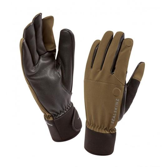 SealSkinz Shooting Waterproof Gloves Olive