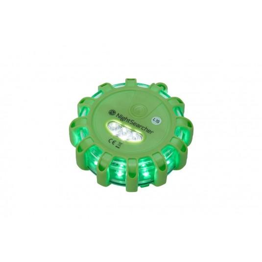 Nightsearcher Pulsar AAA Single Green Hazard Lights