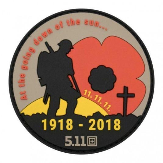 5.11 Tactical Poppy Badge