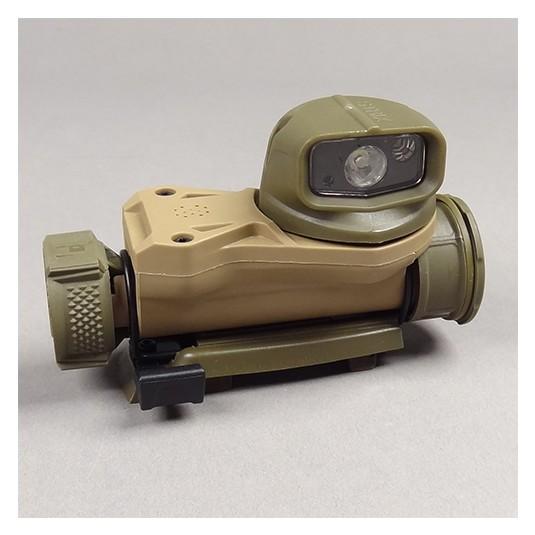 Petzl Strix VL Tactical Headlamp with multiple carry options Desert (E90AHB D)