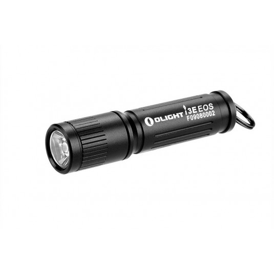 Olight i3E EOS Mono-Output LED Keychain Flashlight, Black