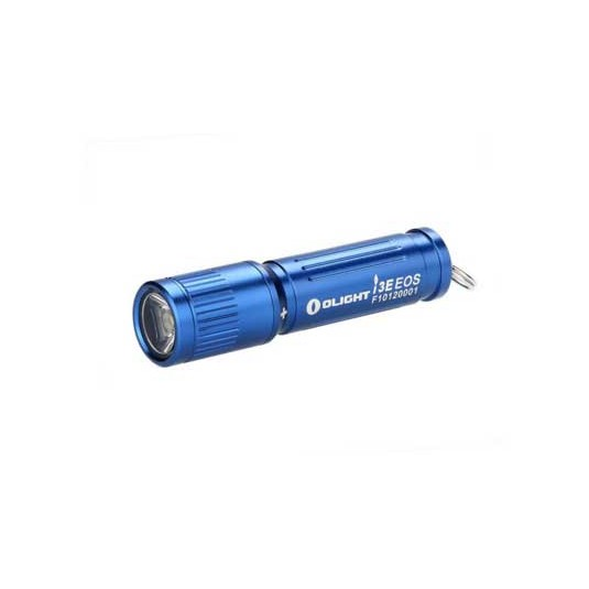 Olight i3E EOS Mono-Output LED Keychain Flashlight, Blue