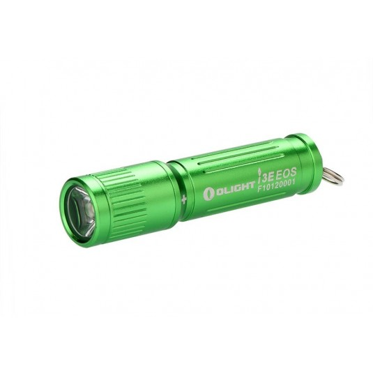 Olight i3E EOS Mono-Output LED Keychain Flashlight, Green