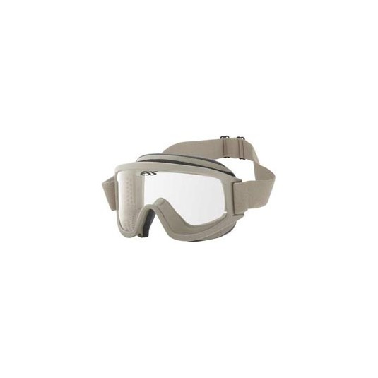 ESS Military Land Operations Goggle with Case Desert Tan