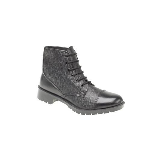 Grafters 6 Eyelet Cadet Boot (Hi-Shine Toes)