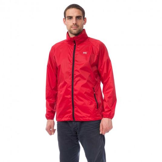 Mac In A Sac Origin Waterproof Packable Jacket - Red